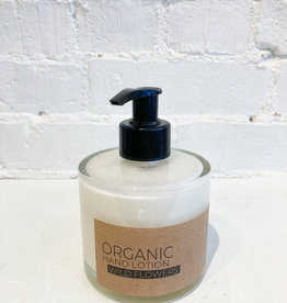 The Munio Organic Hand Lotion- Wild Flowers