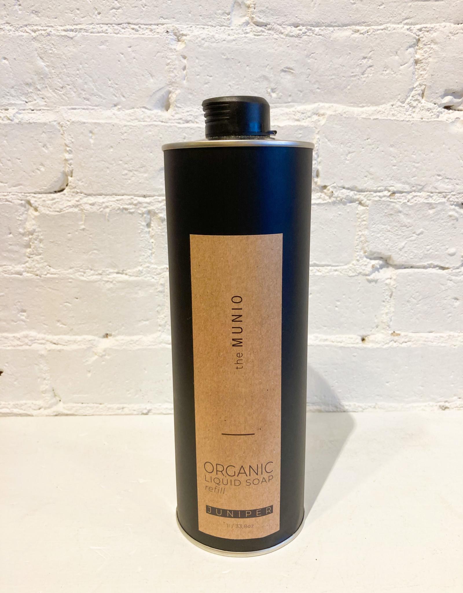 The Munio Organic Liquid Soap Refill- Juniper