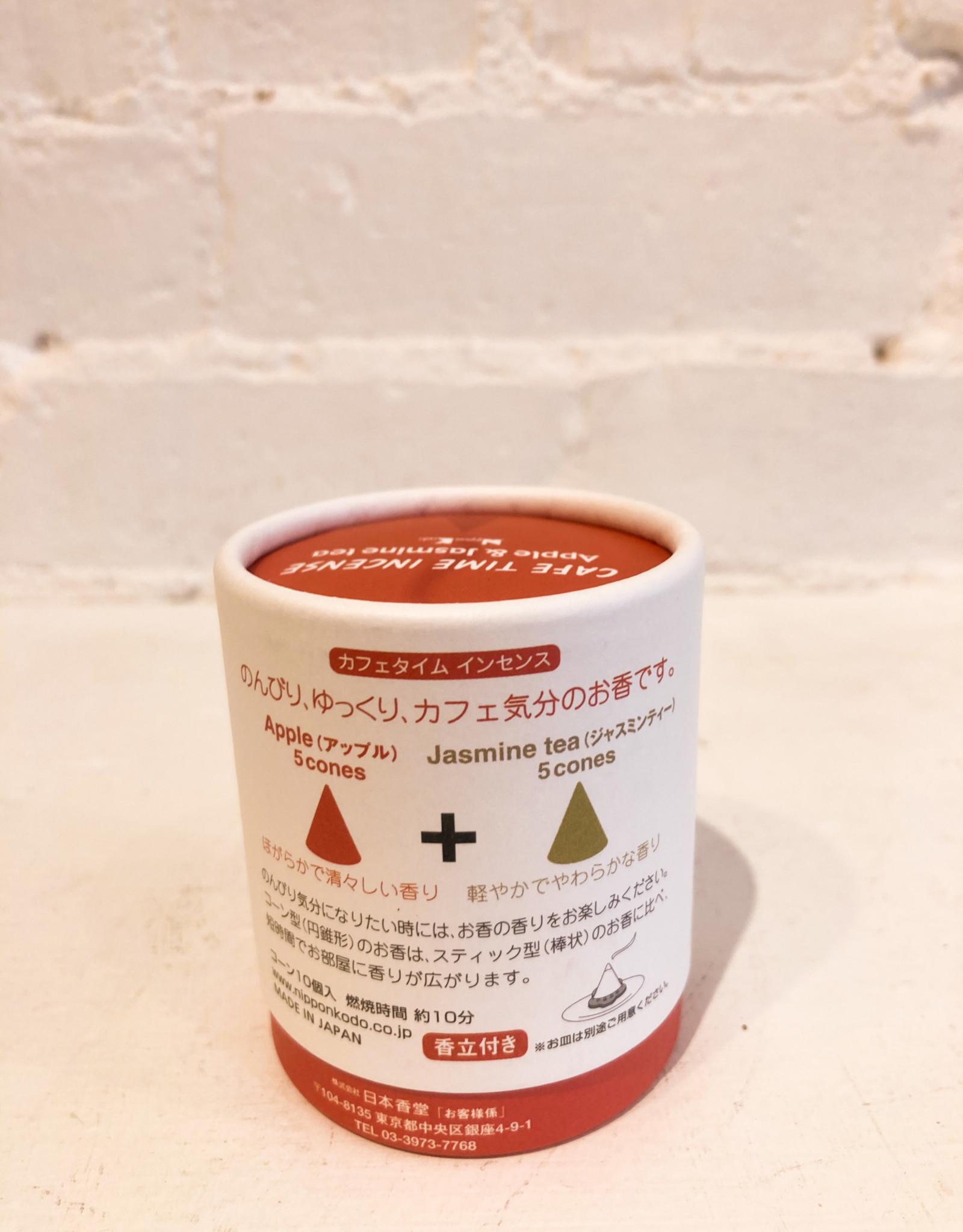 Nippon Kodo Cafe Time Incense- Apple & Jasmine