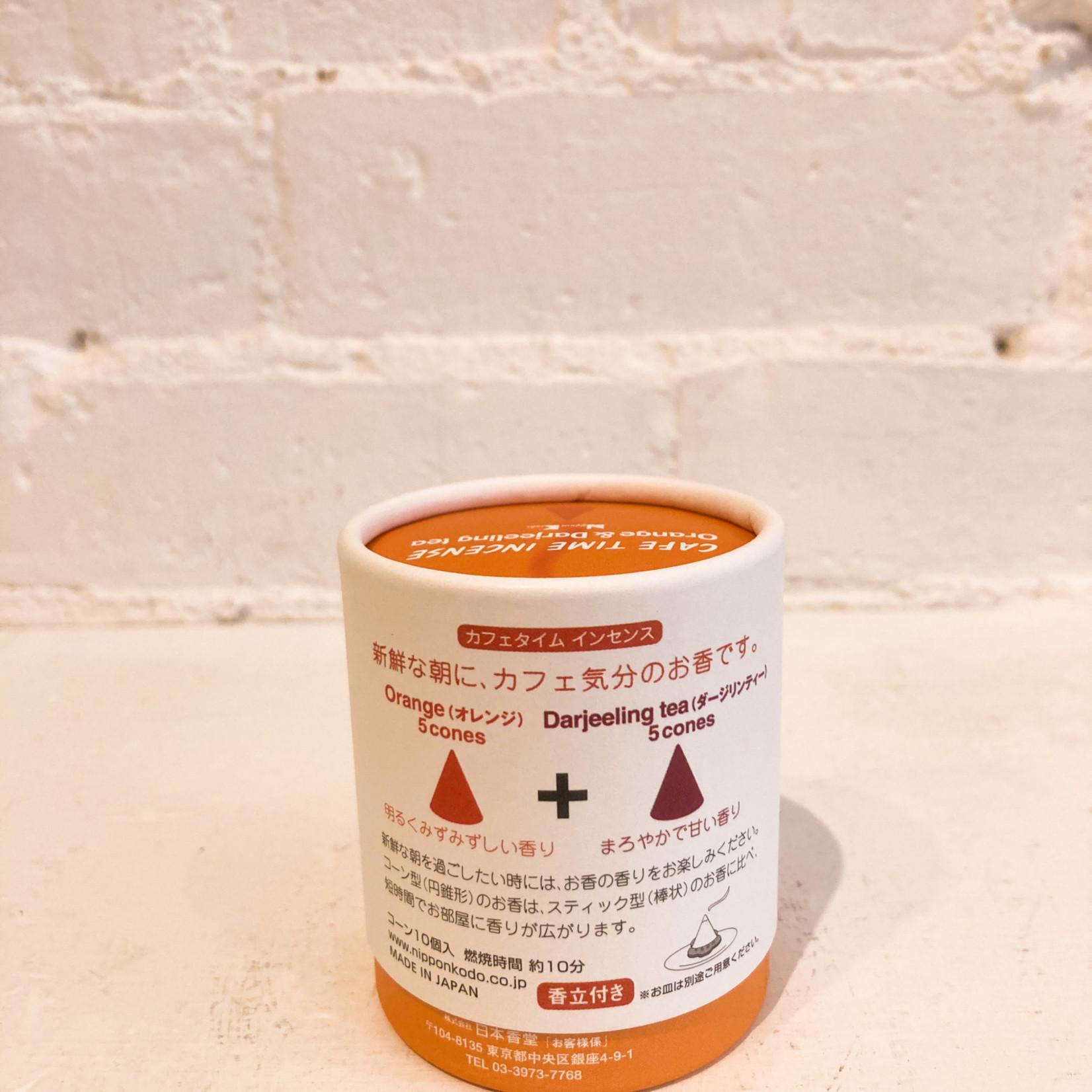 Nippon Kodo Cafe Time Incense- Orange & Darjeeling