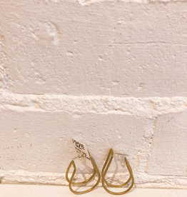 Natalie Joy Teardrop Cage Hoops