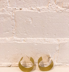 Natalie Joy Wide Circle Earrings- Large