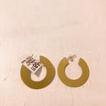 Natalie Joy Minimalist Hoops- Medium