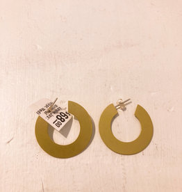 Natalie Joy Minimalist Hoops- Medium