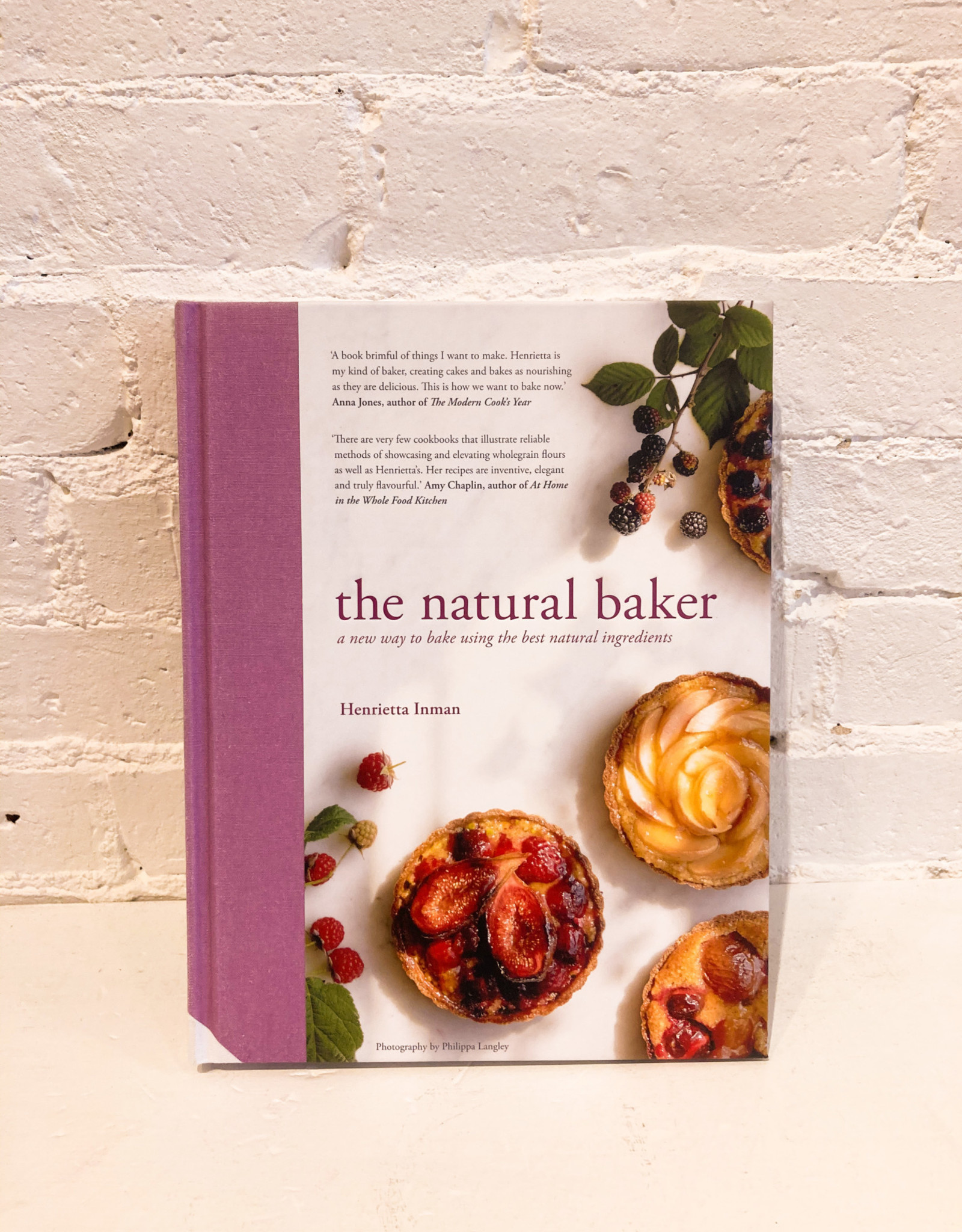 The Natural Baker by Henrietta Inman