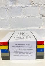 Fredericks & Mae Paper Games