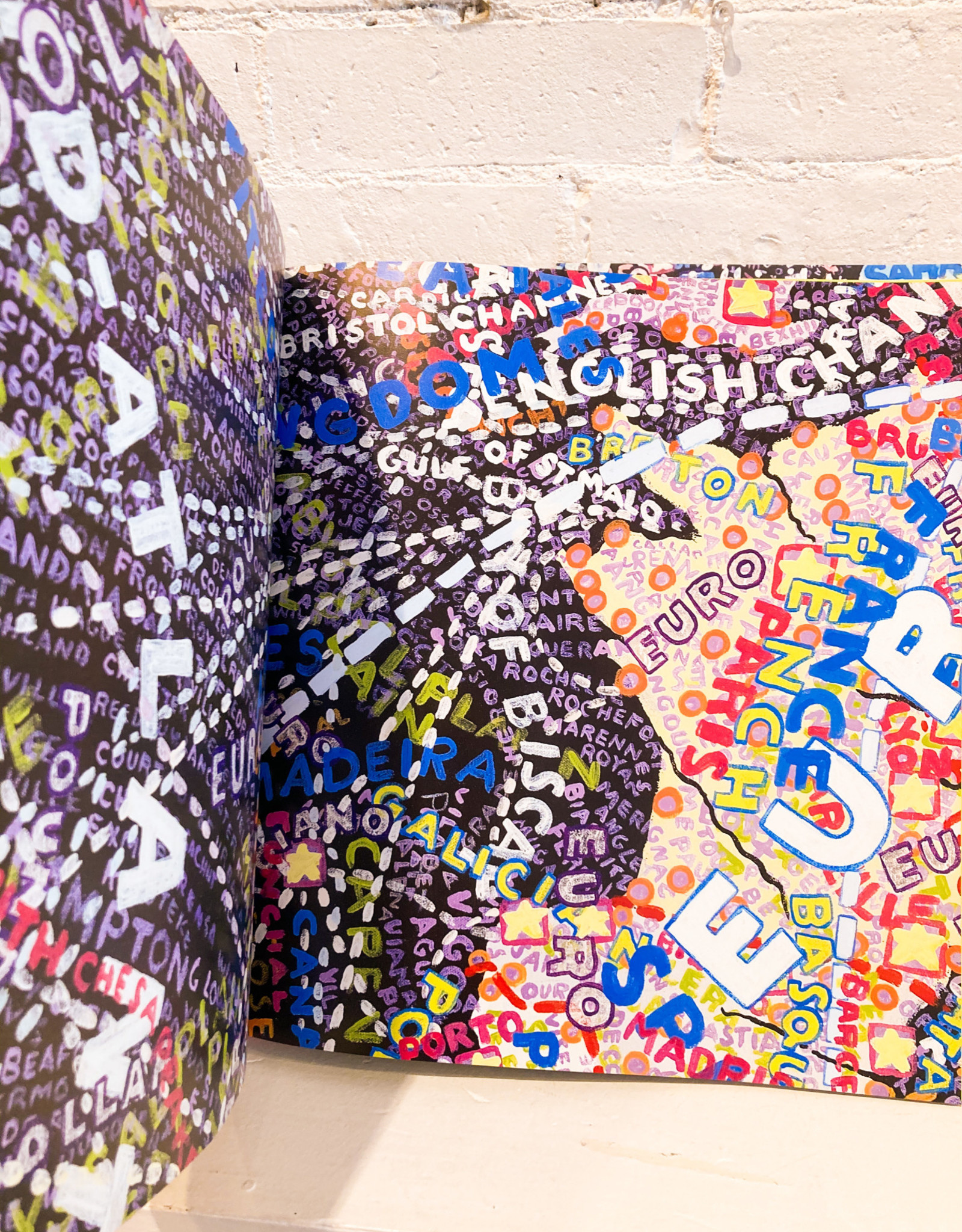 Maps by Paula Scher