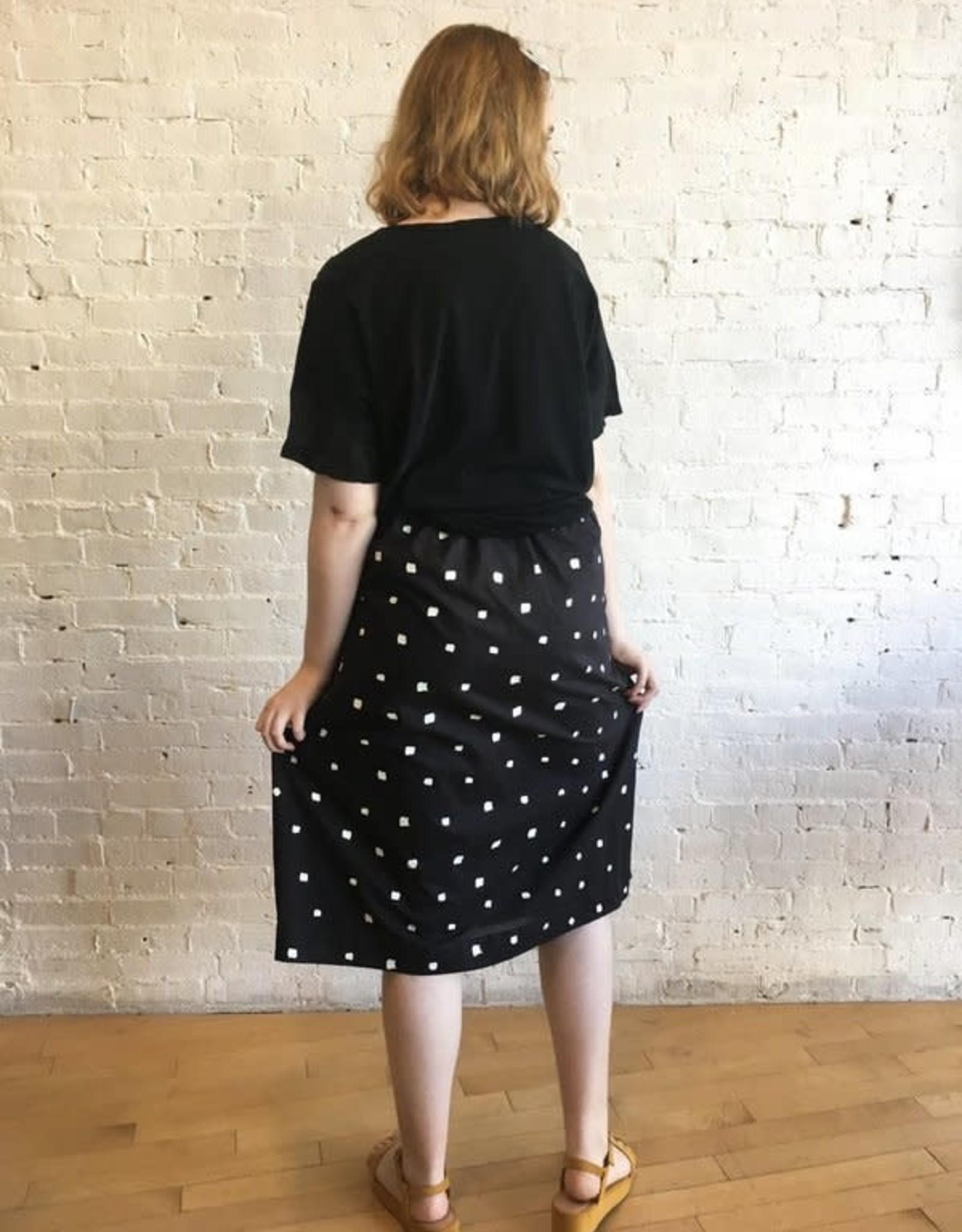 Yoshi Kondo Gazelle Skirt- Black