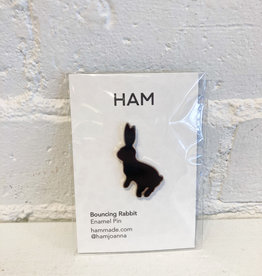 HAM Bouncing Rabbit Pin
