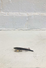 Ficcare Maximas Mini Silver Strike Hair Clip