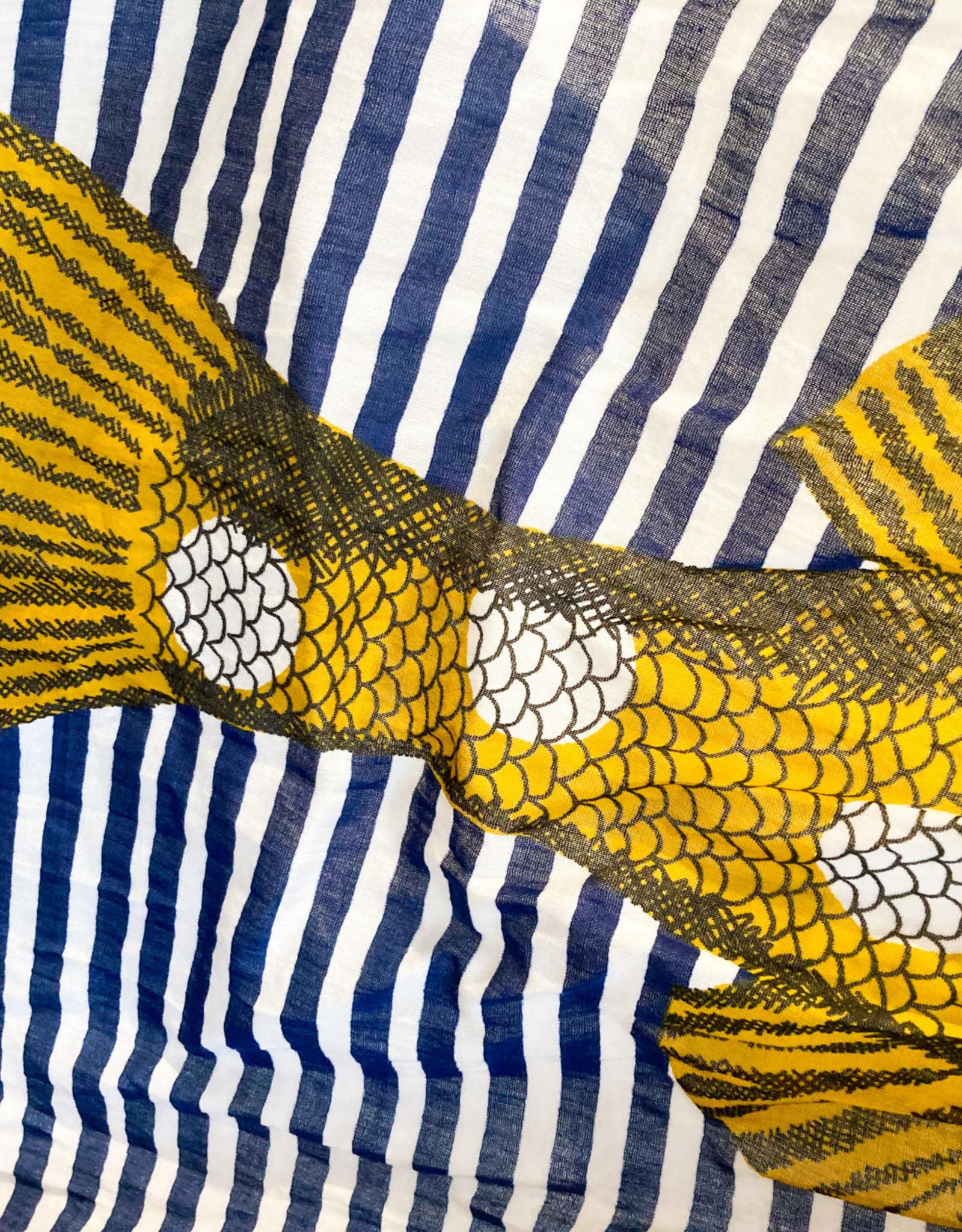 Inouitoosh Kuchi Scarf- Yellow