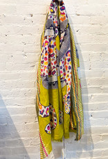 Inouitoosh Edith & Marcel Scarf- Yellow