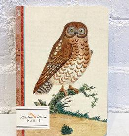 Alibabette Owl Notebook