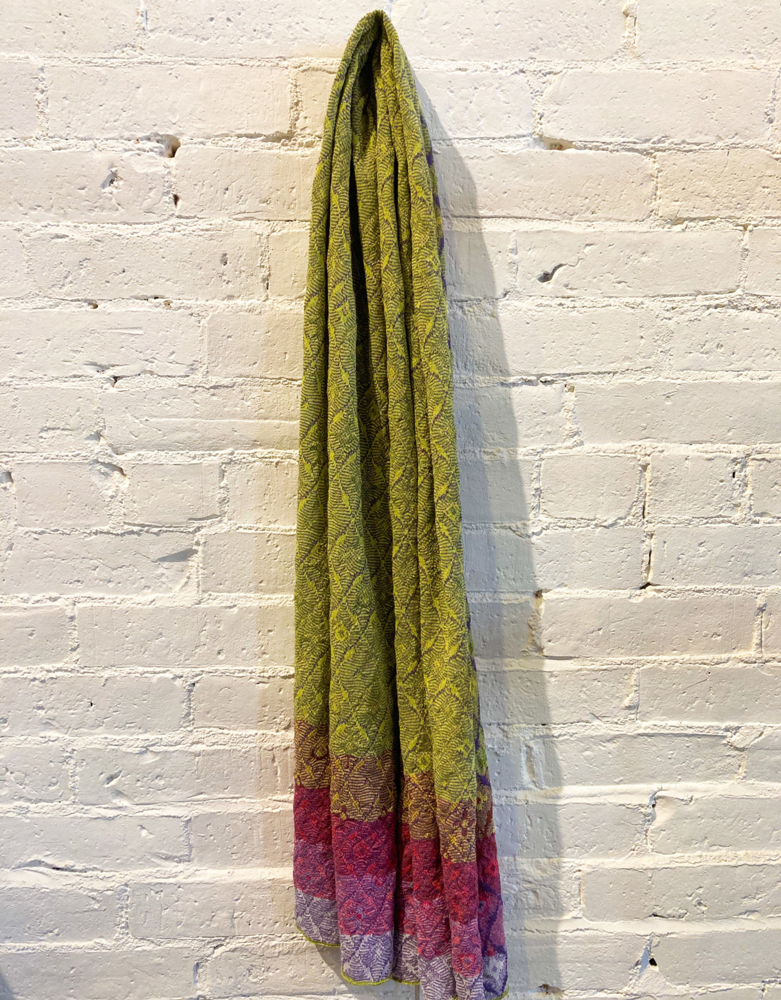 Catherine André Cueca Scarf- Green