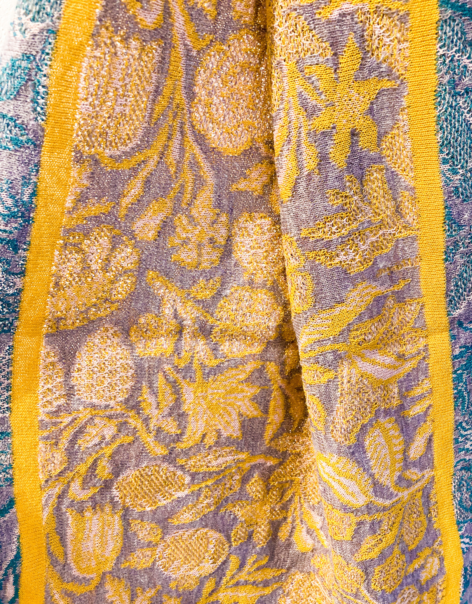 Catherine André Ada Scarf- Ochre