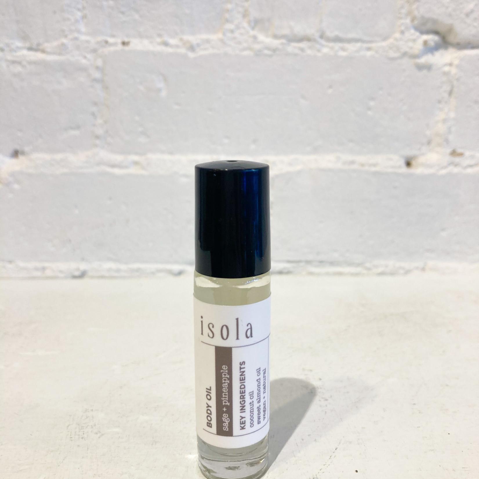 Isola Isola Body Oil- Sage + Pineapple