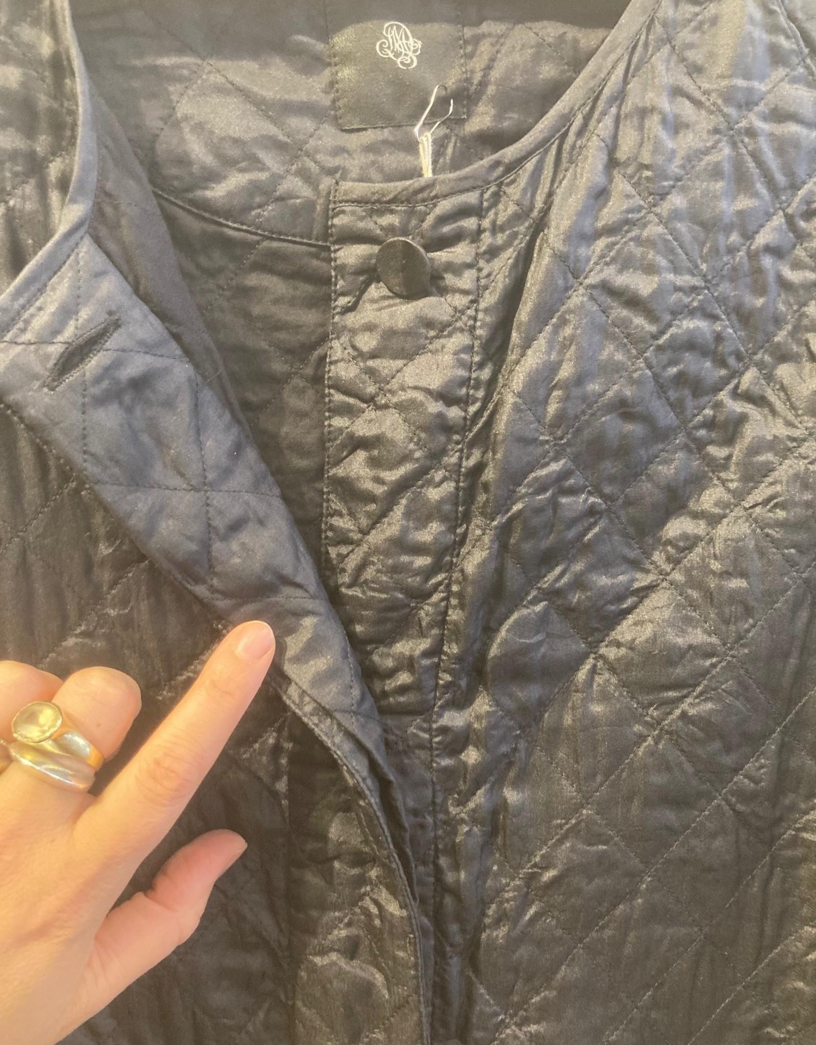 Narumi Silk Quilted Coat