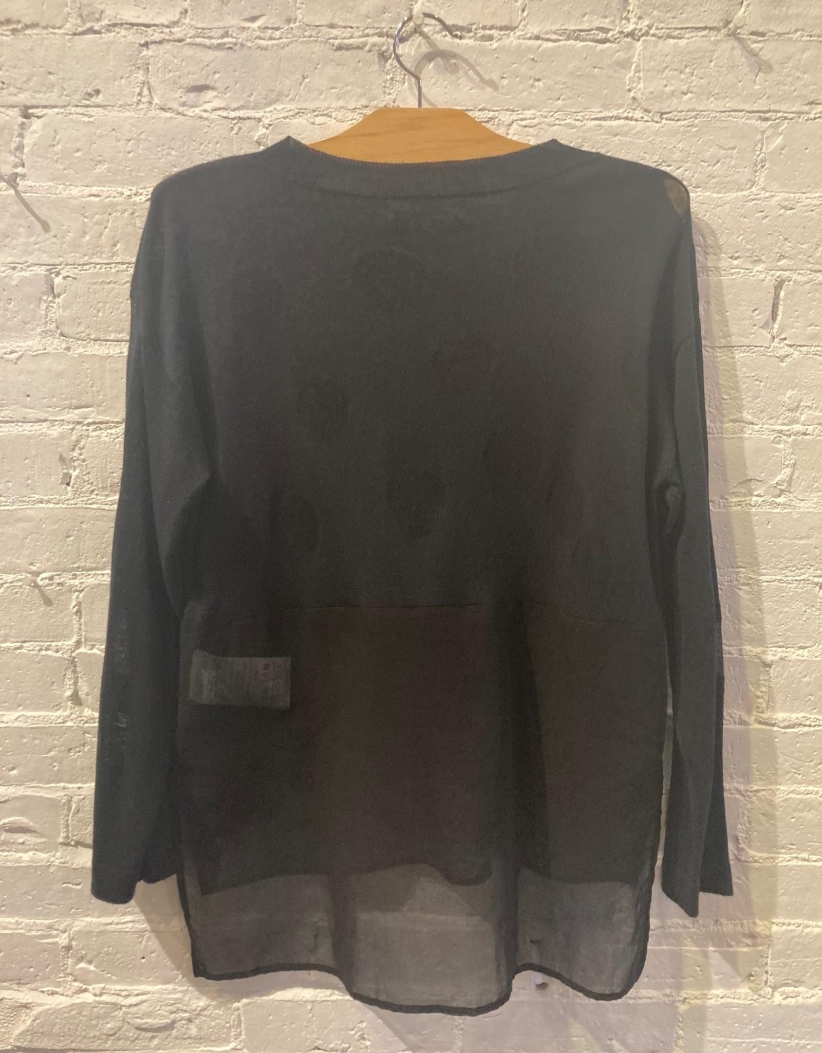 Yoshi Kondo Stick Sweater- Black