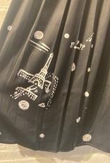 Yoshi Kondo Neo Skirt- Black