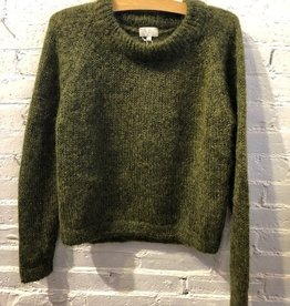 Maska Maska REEVE silk mohair sweater green