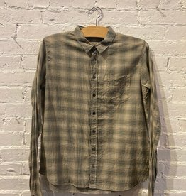 Pas de Calais Pas de Calais: Cotton Plaid Button-Up Shirt XS