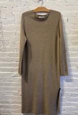 Mijeong Park Mijeong Park: Beige Sweater Dress