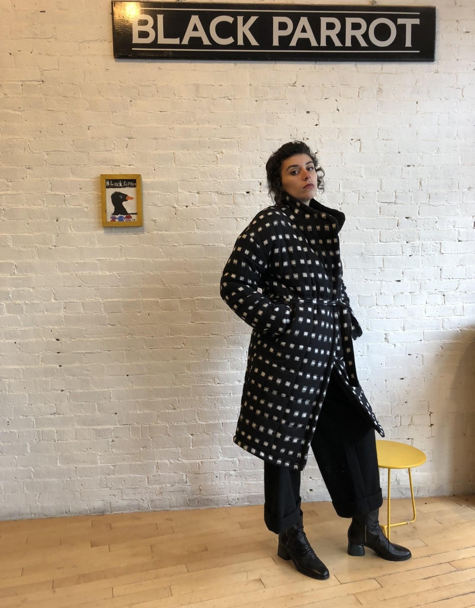 Rujuta Sheth Rujuta Sheth: Ikat Quilted Reversible Coat