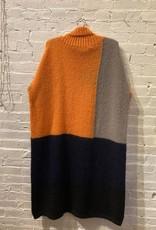 Collection PRIVEE? Collection Privee?: Color Block Sweater Dress  SZ 44
