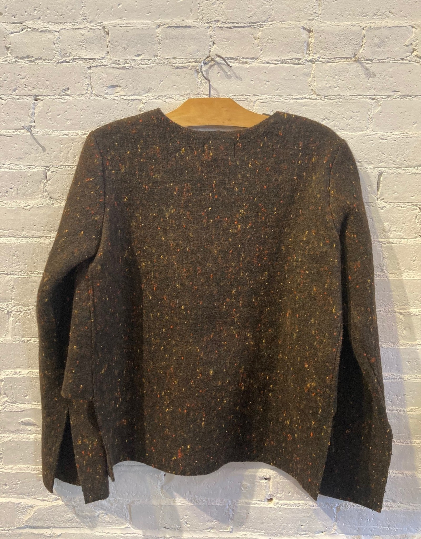 Hache Hache: Felted Speckled Sweater