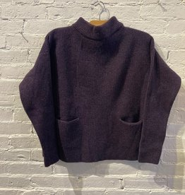 Maska Maska: Aubergine  Ribbed Sweater