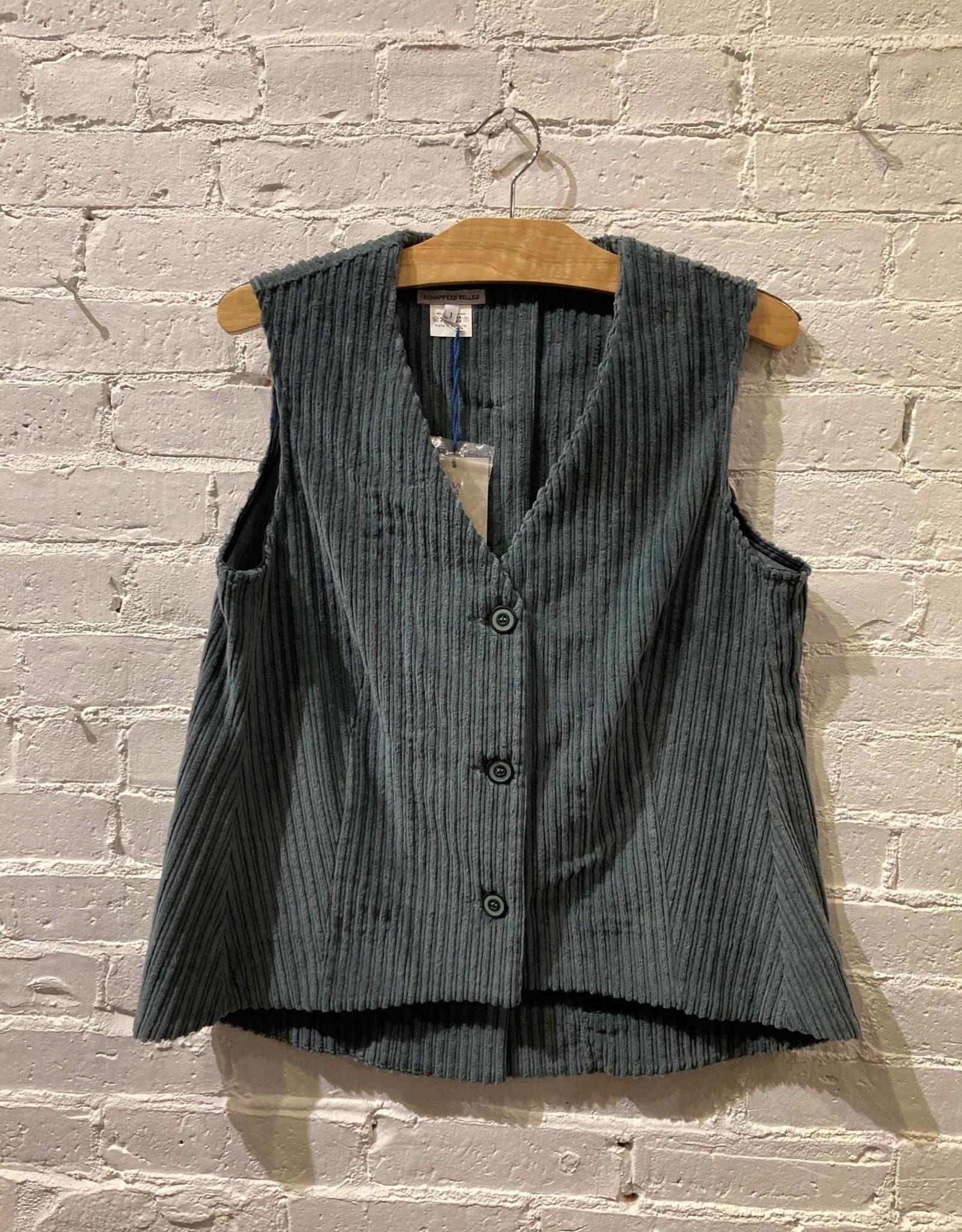 Échappées Belles Echappées Belles: Corduroy Vest