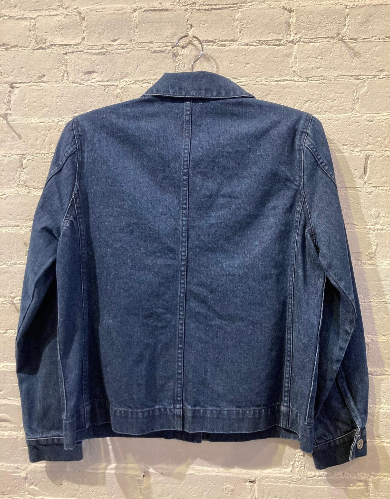 Kowtow Kowtow Blueprint Jacket- Classic Denim