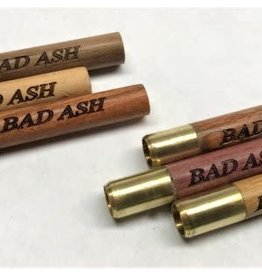 Bad Ash Bad Ash Medium Wooden/Brass Bat 2'' - # 4443