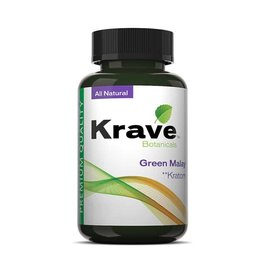 Krave Krave Green Malay Capsules - 300ct