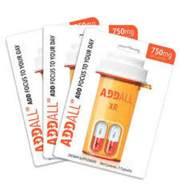 Addall Addall XR Energy Focus Concentration Supplement-2 Pack