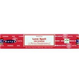 Satya Satya Incense 15 Gram - Love Spell