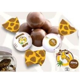 Giraffe Nuts Giraffe Nuts CBD Choco Caramelo Truffle Ball - 30mg Single