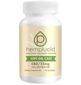 Hemplucid HempLucid Gel Caps 25mg 30ct