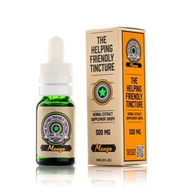 Vapejoose The Helping Friendly Isolate Tincture 500mg - Mango