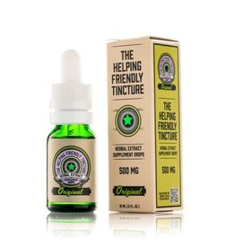 Vapejoose The Helping Friendly Isolate Tincture 500mg - Original