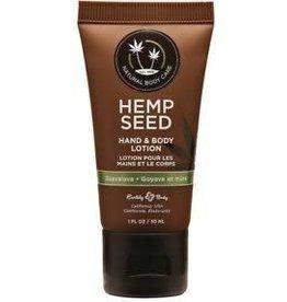 Hemp Seed Hand & Body Lotion - Guavalava 1oz