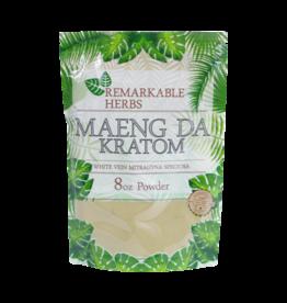 Remarkable Herbs Remarkable Herbs Kratom Powder 8 OZ - White Vein Maeng Da