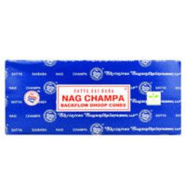 Satya Satya Backflow Cones - 24pc Nag Champa