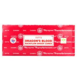 Satya Satya Backflow Cones - 24pc Dragon's Blood