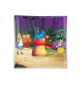 V Syndicate Glass Ashtray - Alice Mushroom