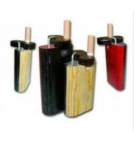 Small Two-Tone Wood Smoke Stopper w/Poker - #8820