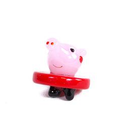 Pig Glass Bubble Carb Cap - #9410