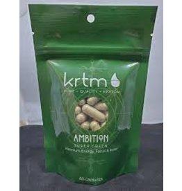 Vapejoose Krtm Kratom Caps - 180ct Super Green