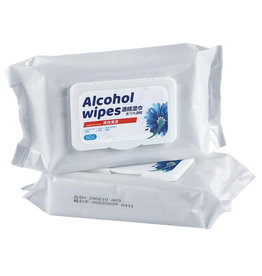 Unbranded Alcohol Wipes | 50pc Pack