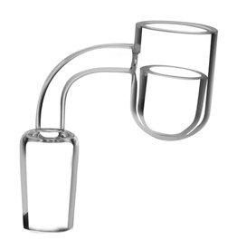 Unbranded Rounded Bucket Banger w/ Quartz Insert - 14mm Male - #0263